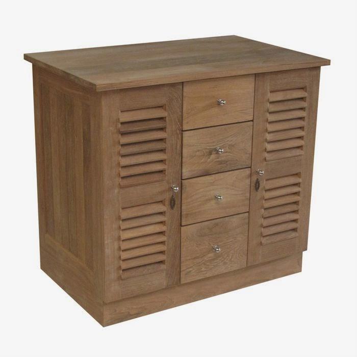 Meuble rangement salle de bain bois meuble d coration maison - Meuble de salle de bains en bois ...