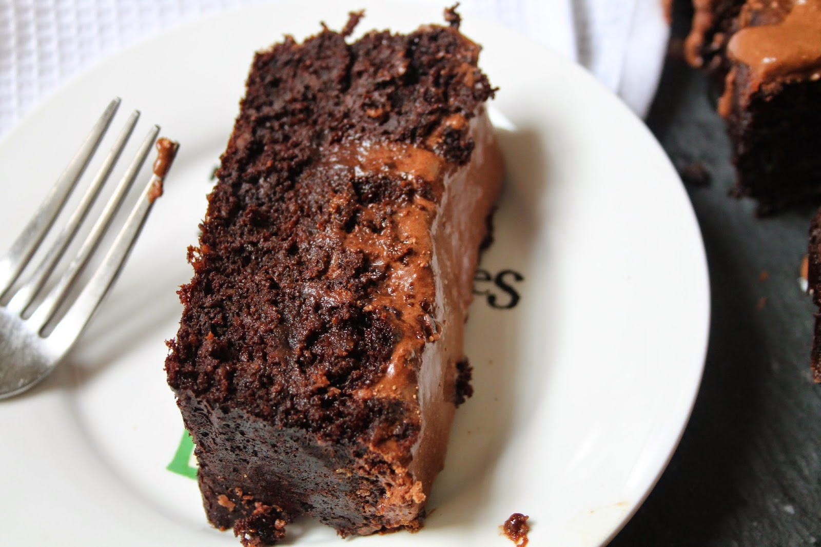 Paleo Double Chocolate Fudge Cake