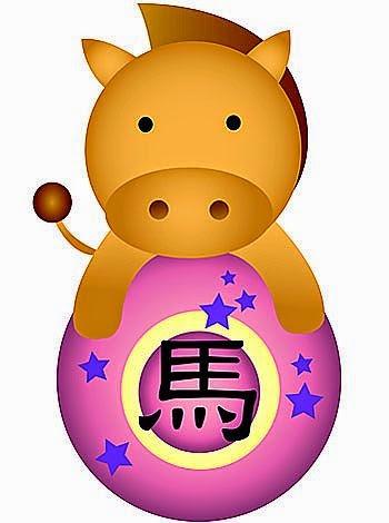 Zodiaco Chino para niños signo del Caballo