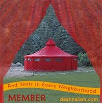 Red Tents in Every Neighborhood