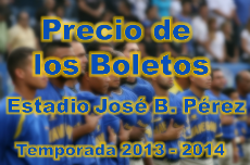 Boletos Temporada 2013-2014
