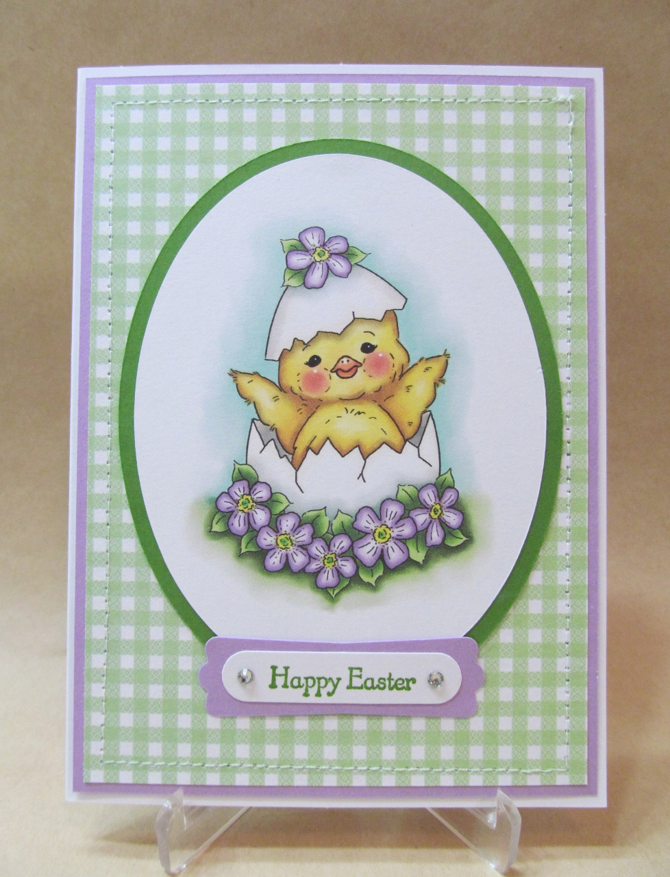 Savvy handmade cards simple easter card last night i finished all the easter cards i needed to make the last card i created was this simple easter card there are no fancy embellishments but i m4hsunfo