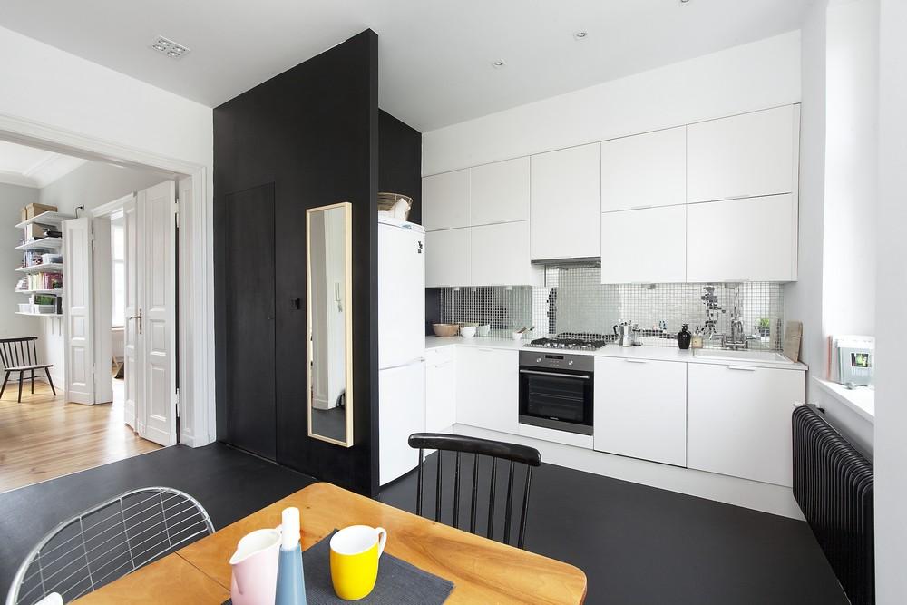 Our very first apartment kuchnia jak urz dzi aneks for Arredamento bilocale moderno