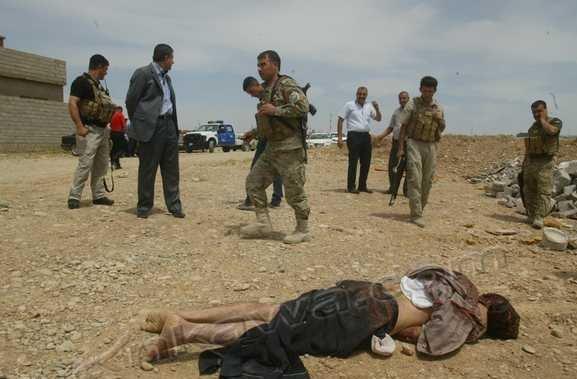 muerto iraq: