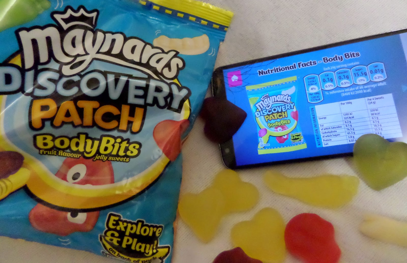 #DiscoveryPatch, technology, sweets, nutrition, app