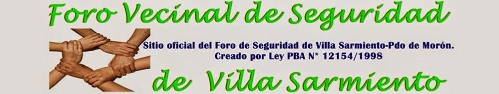 Mapa de Seguridad de Villa Sarmiento