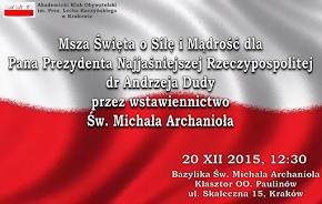 20 XII 2015, godz. 12:30 - AKO Kraków zaprasza: