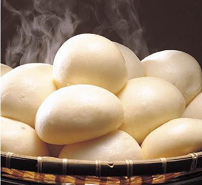 winter snack, steamed bun