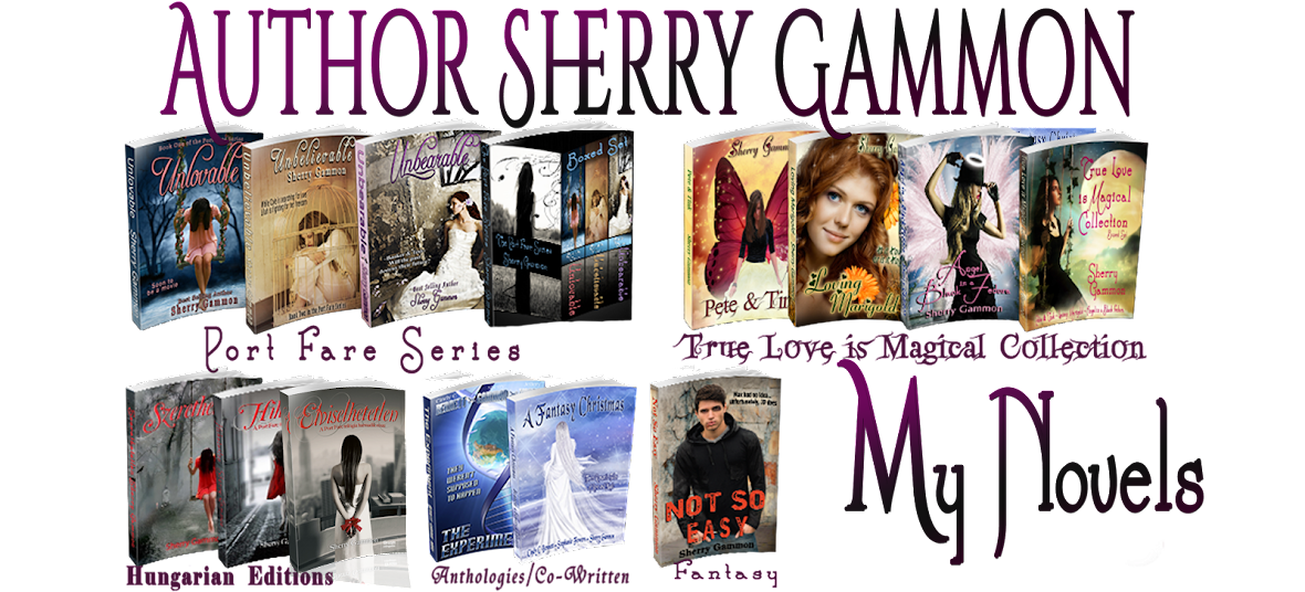 Author Sherry Gammon