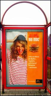 """Obraz: billboard kampanii reklamowej McDonald's """"Ja i Mój Big Mac"""""""