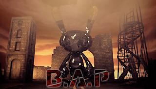B.A.P BAP One Shot rabbit bunny logo
