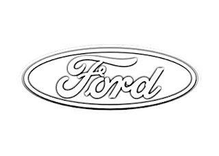 Ford Motor Logo Sketch