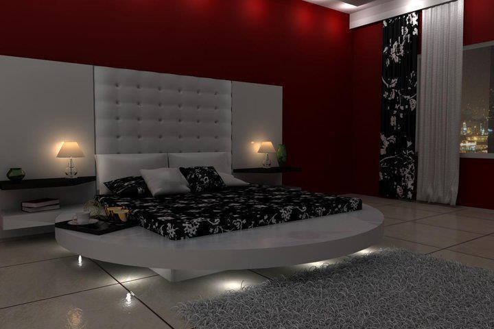 deco style d coration de la chambre de nuit 2012