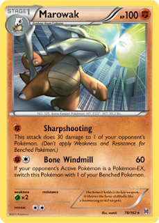 Marowak BREAKthrough Pokemon Card