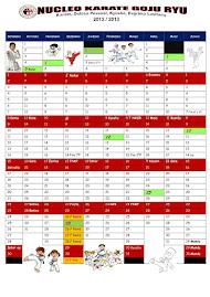Calendário desportivo