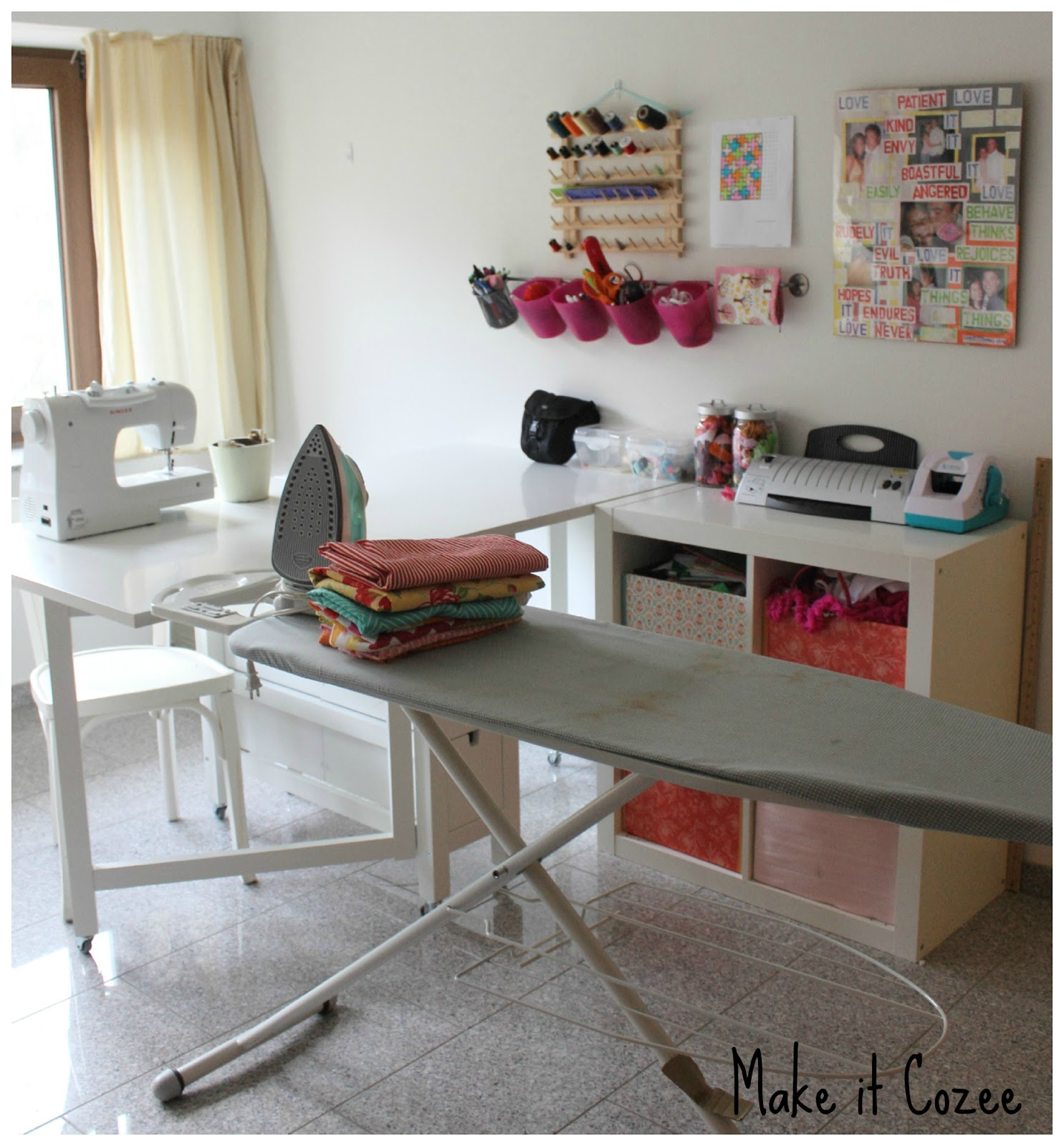 Norden Gateleg With Wheels Sewing Table