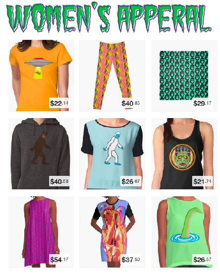Shirts, Skirts, Dresses, Leggings and More!