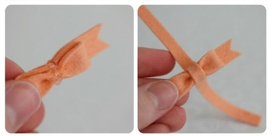 Cara Membuat Kerajinan Tangan Dari Kain Flanel, Paper Clip 5