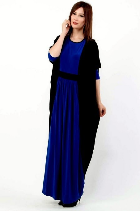Blue Abaya Dresses in Luxury Look