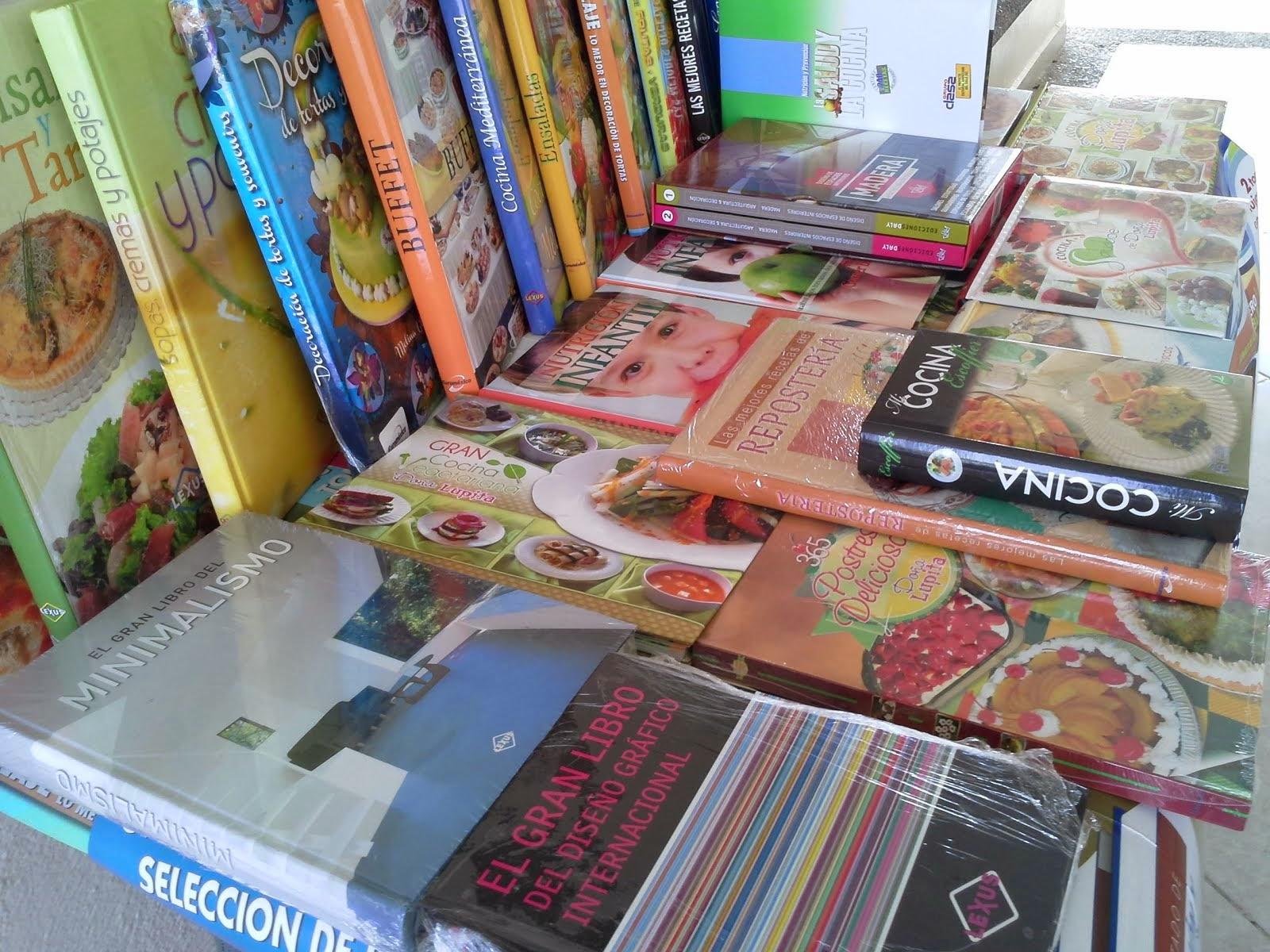 Exposición libros Gastronomía