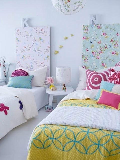 *Habitación de Gadolinia* Cabezeros+con+papel+pintado