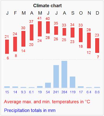 delhi climate chart