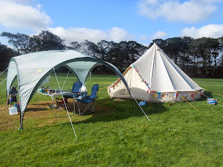 camping σκιά