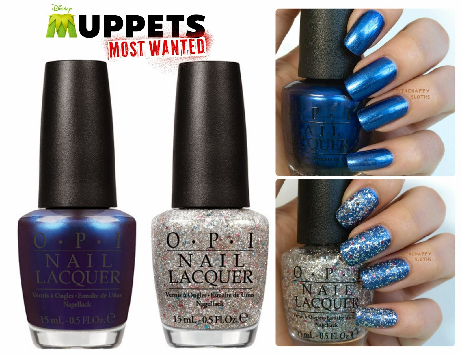OPI Muppets Most Wanted Nail Polish Collection: Review and Swatches ...