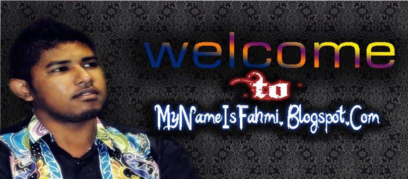 Nama Saya Fahmi