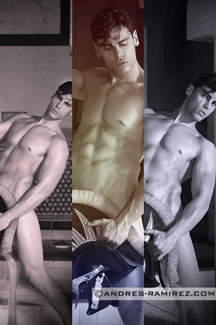 Sexy model David Hernandez by Andres Ramirez