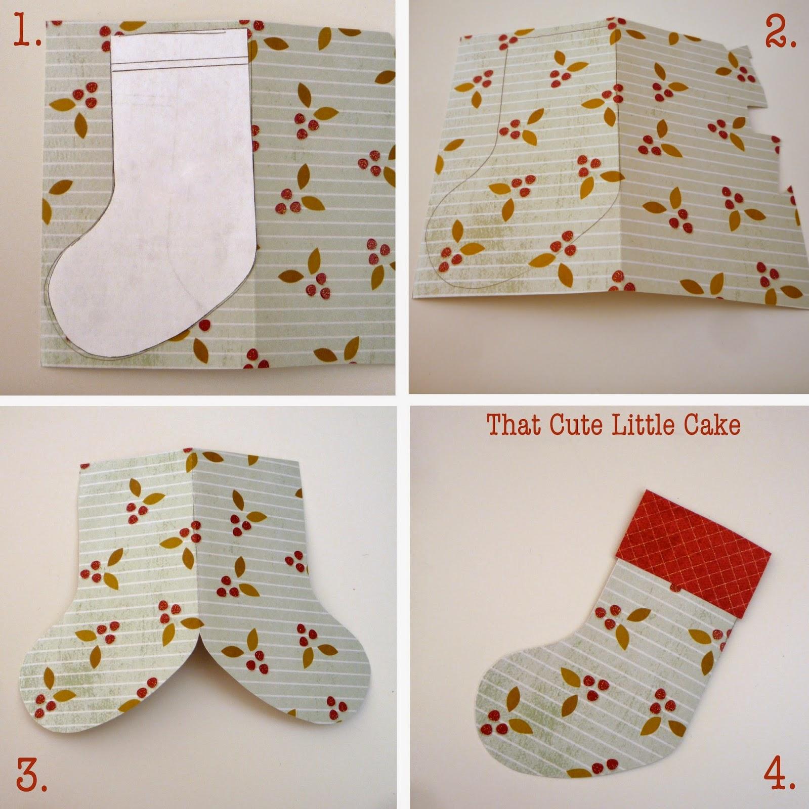 Knitting Pattern For Christmas Stocking Cutlery Holder : That Cute Little Cake: {Christmas Craft} Stocking utensil holders