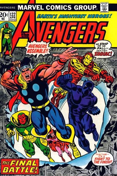 Avengers #122