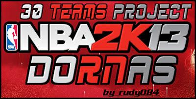 NBA 2K13 30 Teams Sideline Sponsors Mod Pack