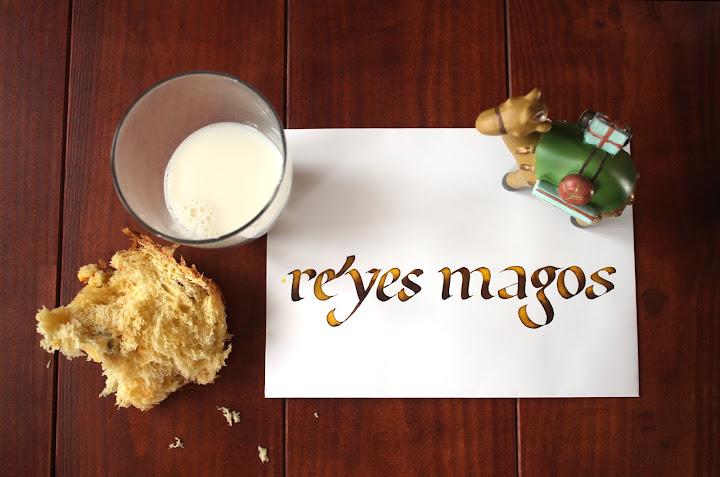 Sobre caligrafiado para los Reyes Magos