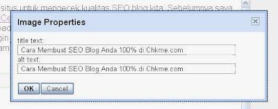 Cara Membuat SEO Blog Anda 100% di Chkme.com