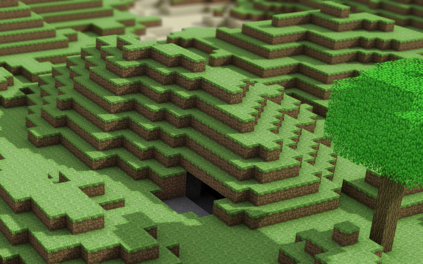 Minecraft Building Game HD Desktop Wallpapers