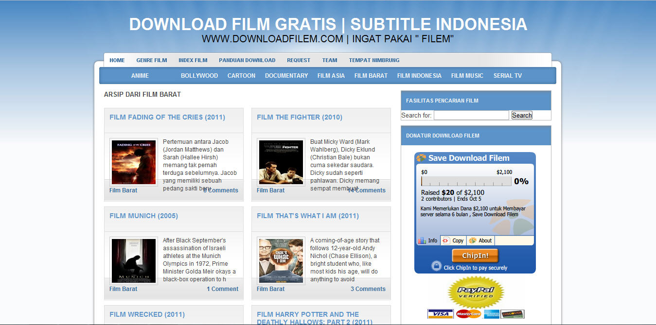 situs download film gratis dengan subtitle indonesia