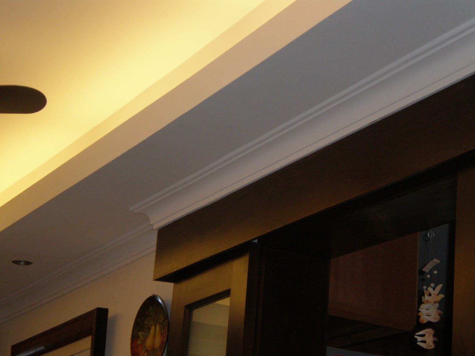 Uniceiling ceiling with light trough this is a popular ceiling design using a light trough design is simple using an l shape profile with the inside corner finished with a simple cornice aloadofball Gallery