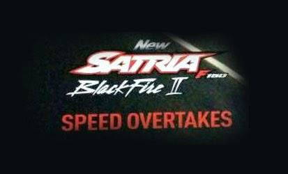 Pilihan Warna Dan Harga Suzuki New Satria Black Fire II