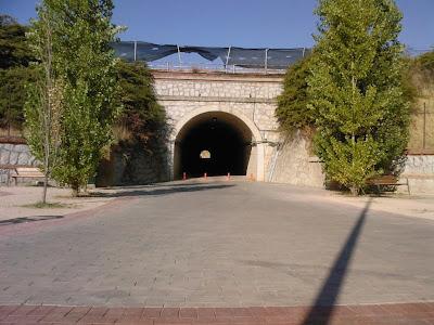 Túnel del carril bici entre Las Tablas y Montecarmelo