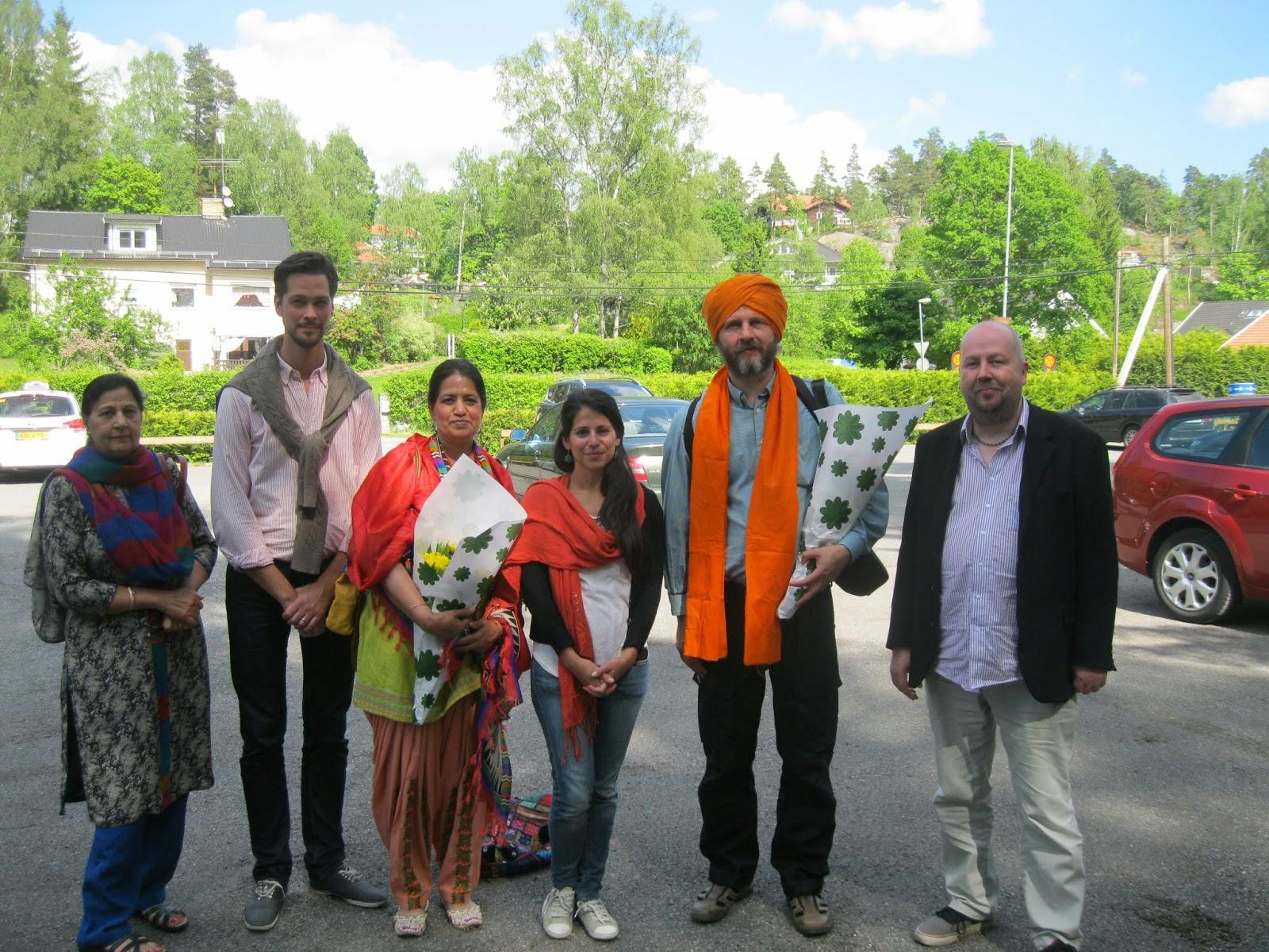Indians living in sweden