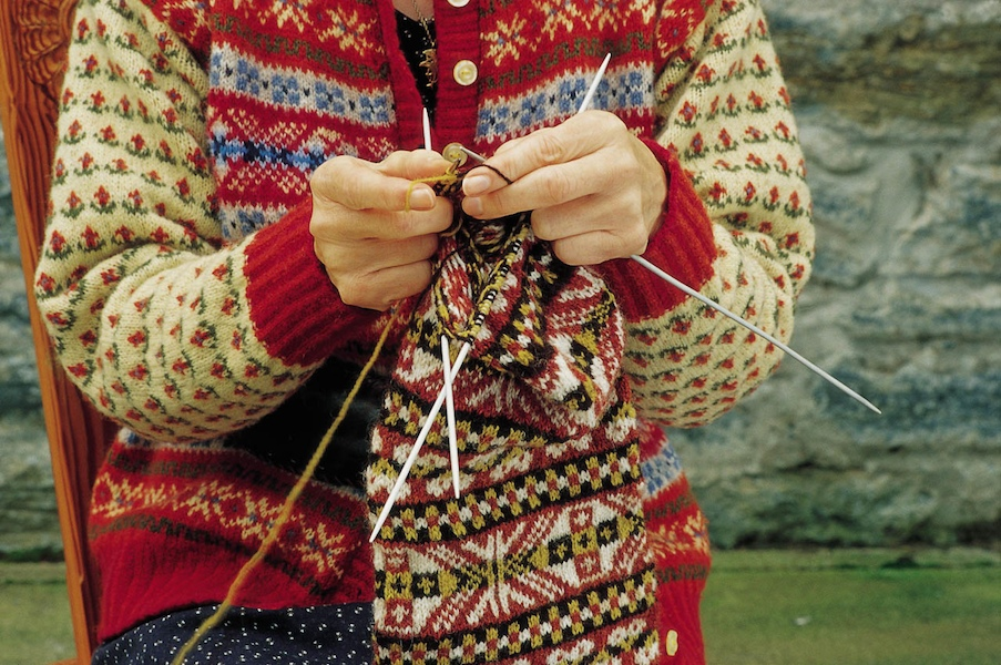 Crazy Girl Yarn Shop: Tips from the Knit Doctor-Fair Isle Knitting