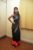 Model Shehnaaz Glam pics in saree-thumbnail-6