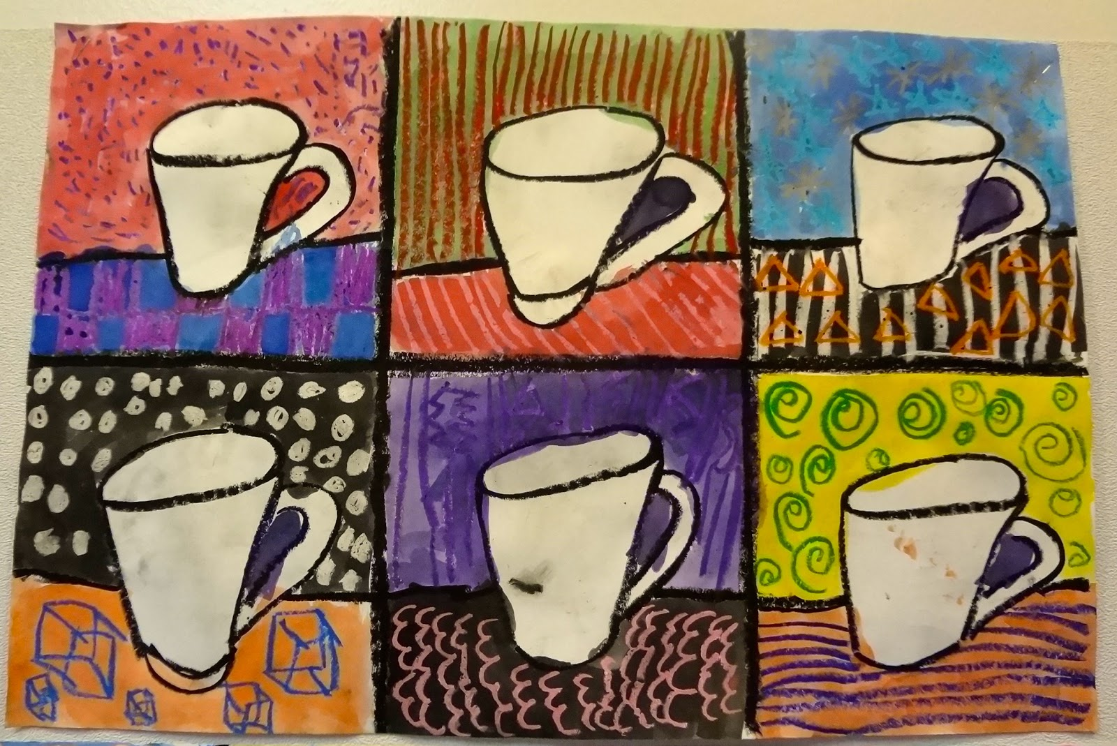 The talking walls pop art lesson with 3rd grade for Crafts for 3rd graders