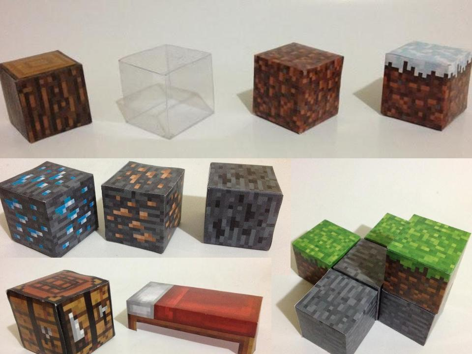Más Papercraft de Minecraft