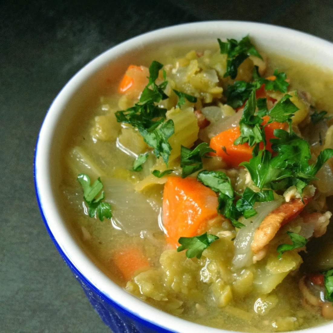 ... from Scratch®: The BEST Slow Cooker Split Pea Soup from Food Bloggers