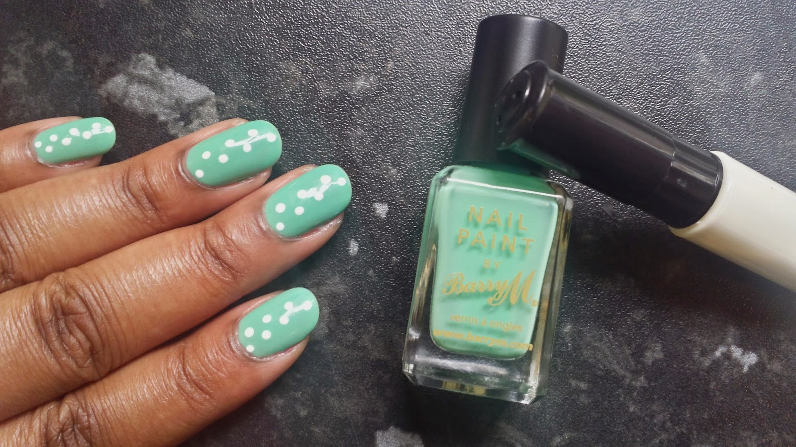 Barry M Mint Green - Mellies Corner