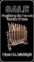 Angklung Bambu Hitam