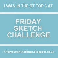Februar 2015 - TOP 3 - FRIDAY SKETCH CHALLENGE #88