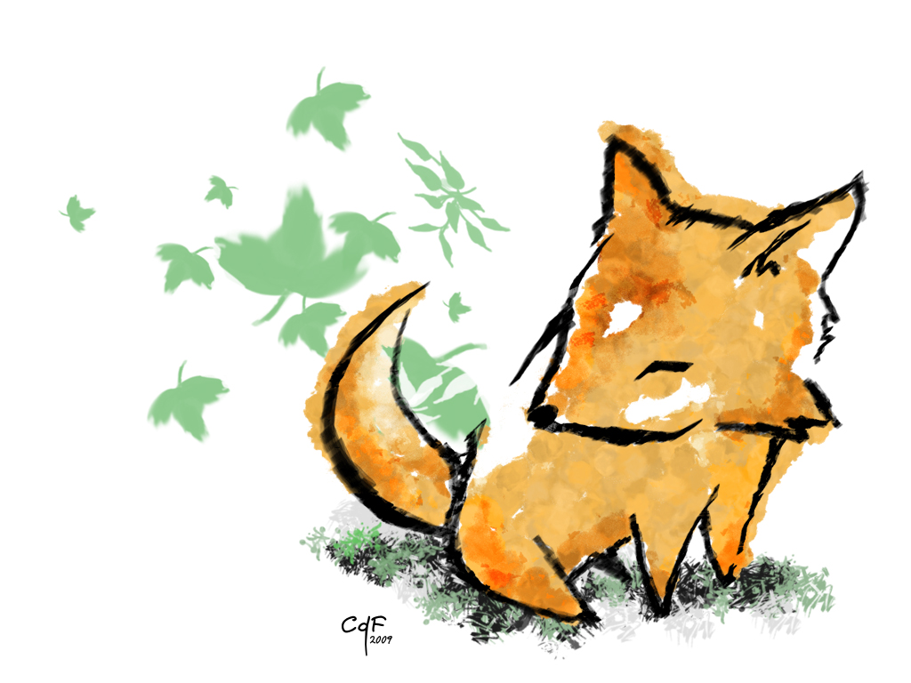Les images de lollipathe dessin cute de renard - Renard en dessin ...